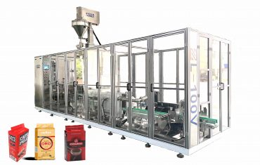 ZL100-V Automatic vacuum packaging machine for coffee powder and yeast