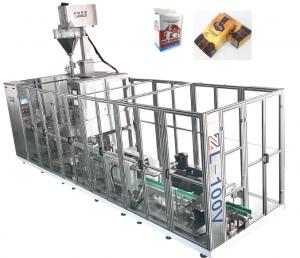 Avtomatik Lineer Tipli Kərpic Vakum Çantası Paketleme Makinası