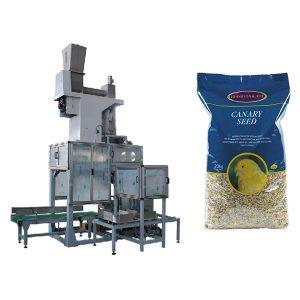 20kg Toxum Açıq Ağız Bağlama & Çanta Dolum Ölçüsü Avtomatik Grain Big Çantalar Paketleme Makinası