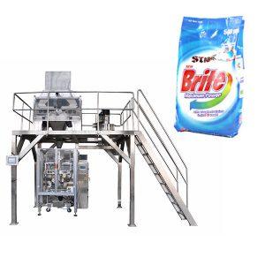 4 başlıqlı lineer çəkilərək yuma toz toz deterjan toz qablaşdırma maşını