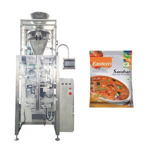Avtomatik Qida Pudrası Sachet Tavuk Esansı Mövsümü Paketleme Makinası