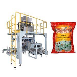 10kg-50 üçün Böyük Çanta Granül Ağır Çanta Pirinç Paketleme Makinası
