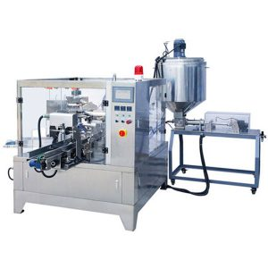 Premade Pouch Liquid & Paste Ambalaj Makinası