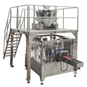 Rotary Avtomatik Fermuarlı Çanta Toxumalı Qablaşdırma Makinası Toxumalı qoz-fındıq üçün